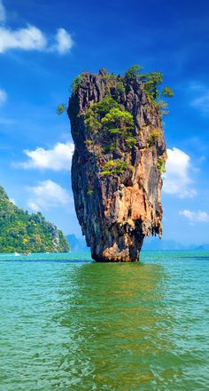 You've undoubtedly seen photos of this craggy karst tower shooting into the sky from turquoise waters. But what's the story behind Thailand's Ko Tapu?