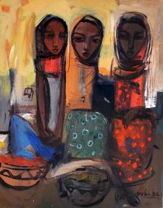 Ethiopian artist Debebe Tesfaye, who now resides in the US,...