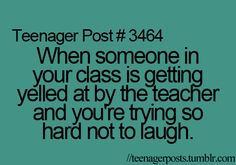 Used to happen all the time.