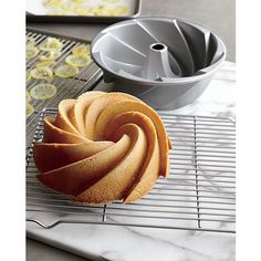 Nordic Ware ® Heritage Bundt ® Pan in Bakeware Cool Kitchen Gadgets, Kitchen Items, Cool Kitchens, Kitchen Tools, Top Gadgets, Kitchen Utensils, Baking Tools, Baking Pans, Kitchen Must Haves