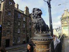 Bobby el perro fiel es una historia parecida al estilo Hachiko, aqui esta la historia:  http://www.sentadofrentealmundo.com/2010/11/bobby-el-perro-fiel-de-edimburgo.html   http://en.wikipedia.org/wiki/Greyfriars_Bobby Diagonal a esta calle se encuentra el Museo Nacional de Escocia...