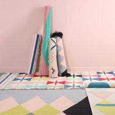 Rug #vloerkleed | Arro home, Beautiful graphic rugs