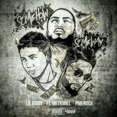 """Lil Bibby makes that Philly connection on a new one called """"Some How Some Way"""" featuring Meek Mill and PnB Rock. Previously: Lil Bibby ft. Savage Squad, Lil Bibby, Pnb Rock, Hip Hop Albums, Meek Mill, New Music, Album Covers, Rapper, Fictional Characters"""