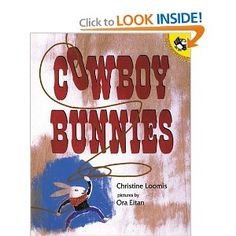 Cowboy Bunnies, a Camp Kidville favorite #kidsbooks