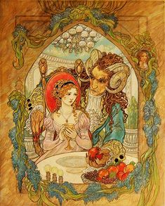 "Rebecca Guay | ""Do not be afraid"" from Beauty and the Beast"