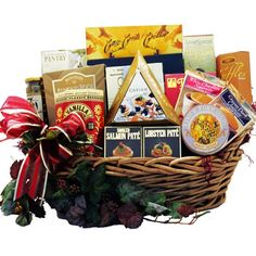 Art of Appreciation Gift Baskets Epicurean Feast Gourmet Food Basket with Caviar $92.29