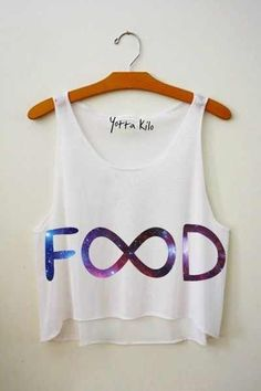 FOOD Infinity crop top- Yotta Kilo