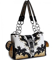 Black Western Buckle Cowgirl Style Purse - Handbags, Bling & More!