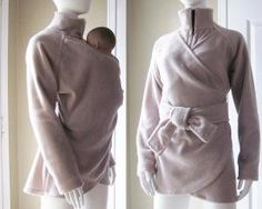 Maternity Babywearing Coat Jacket Baby Wearing Baby by babywearing