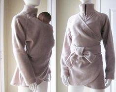 Maternity Babywearing Coat Jacket Baby Wearing Baby by babywearing