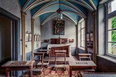 Chateau Alkohol,urbex,kapel,Duitsland,urban exploring,abandoned