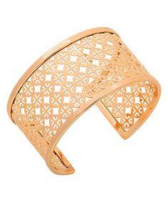 Love this Rose Gold Cutout Cuff on #zulily! #zulilyfinds
