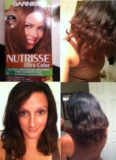 DIY OMbre hair. It took 2 times..both times i let it sit on my hair for 1:30-2 hours...but I love the results. If you have natural black hair and want to try out this look..I suggest it! It doesn't damage and WAY cheaper.