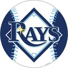 Tampa Bay Rays MLB 12 Vinyl Magnet