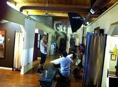 Chester Bennington photo shoot