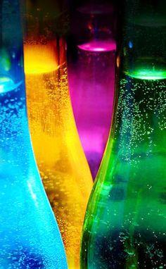 Jewel toned bottles