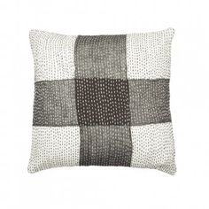Patchwork & Kantha Cushion Cover by ABRAHAM & THAKORE available at https://indelust.com