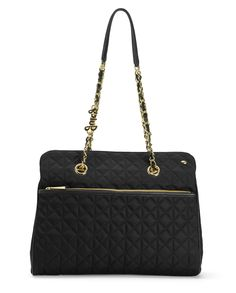 LARCHMONT NYLON CHAIN TOTE - Juicy Couture