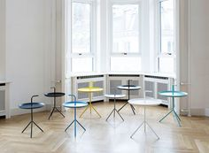 "Small tables ""DLM"", hay.dk"