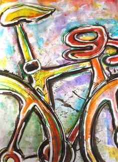bike art by debbie crawford