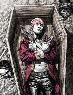 W.Axl Rose Axl Rose, Guns N Roses, Pop Rock, Rock N Roll, Heavy Metal, Art Ancien, Rock Posters, Rock Legends, Comic Book Artists