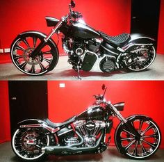 Harley Breakout Custom, supercharged