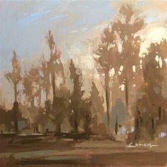 "Daily Paintworks - ""West Coast Light Study I"" - Original Fine Art for Sale - © Chris Long"