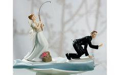 21 noivinhos de bolo de casamento estranhos
