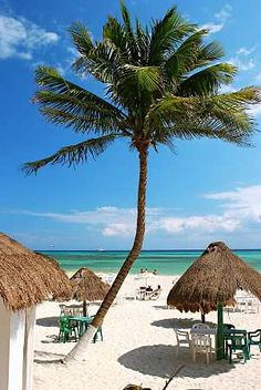 Beach time - Playa del Carmen, Mexico