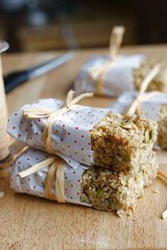 Mom's Flapjacks (Granola bar)  Serves 9-20 depending on greediness  1 cup butter  2/3 cups sugar  heaped 1/3 cups golden syrup  4 1/4 cups 1 minute oats  1 heaping tablespoon flour  1 pinch salt  2 handfuls pumpkin seeds  1/4 cup sunflower seeds  scant 1/4 cups sesame seeds