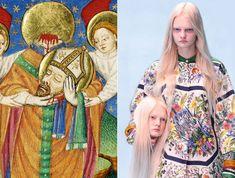 Por qué la moda rescató el arte clásico y lo convirtió en meme Moda y música revitalizan el interés por los maestros del Renacimiento y Barroco. Memes, Art History, Fashion Art, Dressing, Study, Colours, Shapes, Education, Business