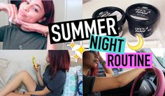 ☆☾ Summer Night Routine ☽☆ SIMPLYNESSA15