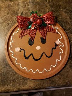 Gingerbread Crafts, Gingerbread Decorations, Diy Christmas Decorations Easy, Christmas Crafts For Gifts, Gingerbread Men, Christmas Projects, Christmas Art, Christmas Traditions, Family Christmas