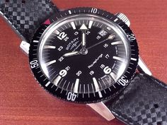 ロータリー アクアプランジ ダイバーズ オリジナルベルト 1960年代のメイン写真