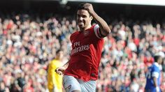 Arsenal 4 Everton 1 - Mikel after scoring (his second!?!) penalty