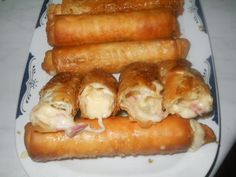 Greek Recipes, Real Food Recipes, Cooking Recipes, Yummy Food, Yummy Recipes, Recipies, Greek Appetizers, Appetizer Recipes, Healthy Snaks