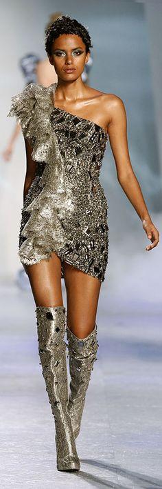 """✪ Zuhair Murad - Couture - """"Winter rhapsody"""", F/W 2009-2010  ✪ http://en.flip-zone.com/fashion/couture-1/fashion-houses/zuhair-murad-1017  ☪Women's ♥ Fashion☪☂♀"""