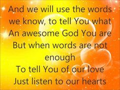 ▶ Listen to Our Hearts - Casting Crowns - with lyrics - YouTube