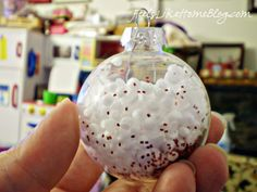 Christmas ornaments with pictures - 3 PHOTO!