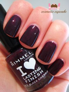 Rimmel Black Cherries
