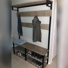 Bathroom Toilets, Organization, Organizing, Entryway Bench, New Homes, Loft, Bed, Projects, House