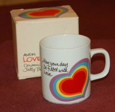 Avon Heart Mug 1983