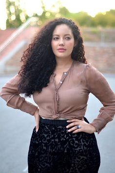 Tanesha Awasthi's hair