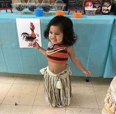 Moana traje de Disney traje de Moana Prop de la foto recién