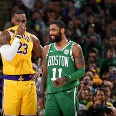 1bb57d0a9911 Kyrie Irving  Very Empathetic  of  Unfair  Criticisms of Lakers  LeBron  James