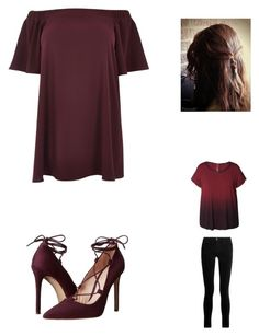 """Geen titel #8"" by emma-louwagie on Polyvore featuring mode, River Island, Massimo Matteo, Dex, J Brand en plus size dresses"