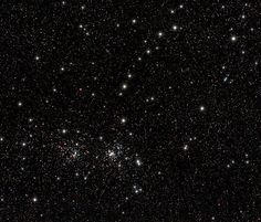 Double Cluster and Greg's Charm Bracelet in the constellation of Cassiopeia
