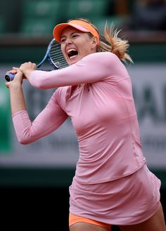 Maria Sharapova, French Open, May 28, 2014. (Matthias Hangst/Getty Images Europe)