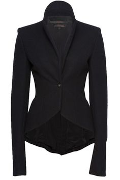 L'Wren Scott drape fitted jacket