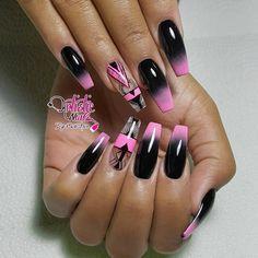 Midnight Fantasy... #realnailboss #nailoftheday #summer #neon #pink #picofth